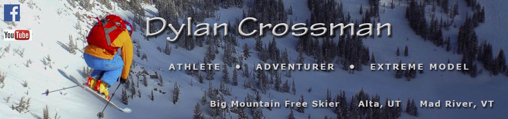 Dylan Crossman Big Mountain Free Ski Model